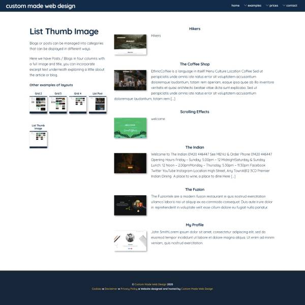 List Thum image