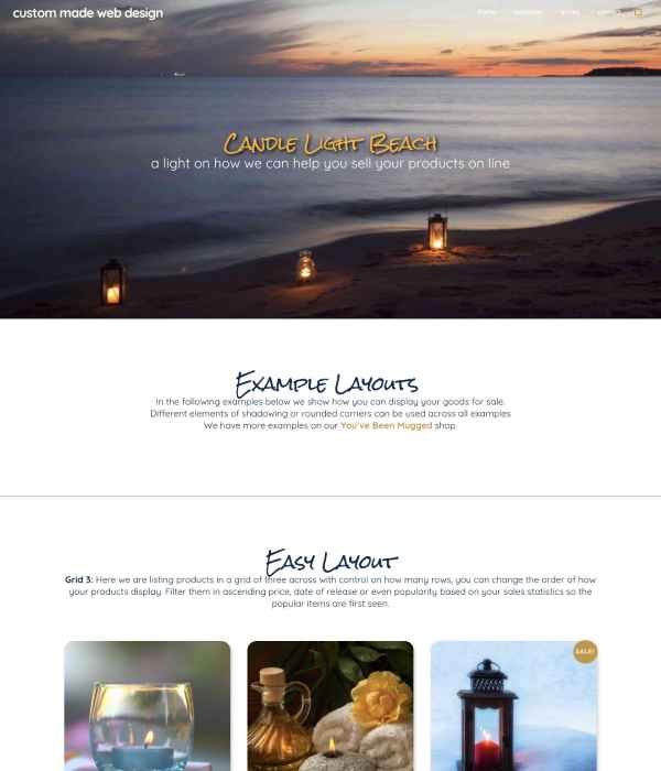 Candle Light Beach