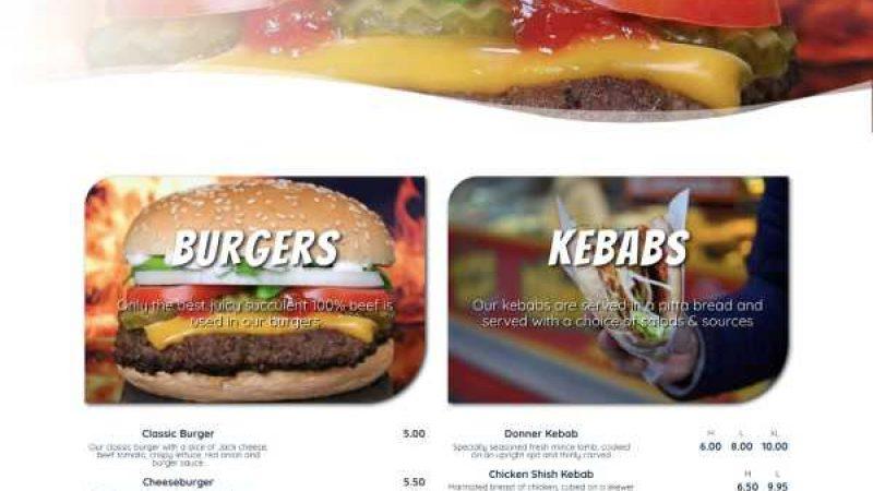 Fast Food homepage
