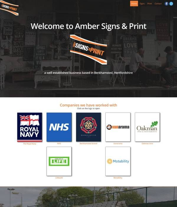 Amber Signs