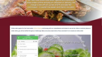 Online Foof Ordering Service
