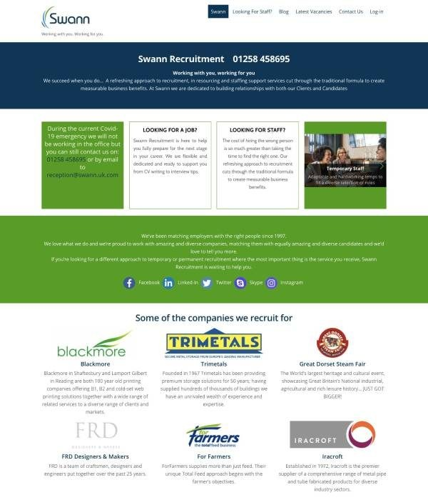 Swann Recruitment Ltd